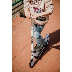 PUKY - deský bicykel SKYRIDE 24-7 Alu light biele