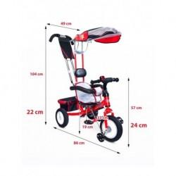 Detské lehátko Baby Mix grey