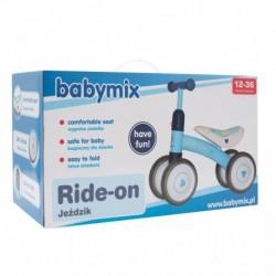 PUKY - odrážadlo LR Ride - biela / kiwi