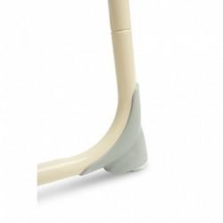 Jedálenský stolček ECO TOYS 2v1 - fialový