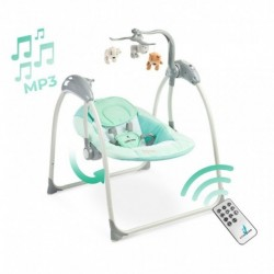 Detská cestovná postieľka DREAM - modrá