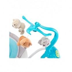 Jedálenský stolček - červený autobus